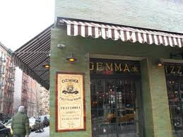 Gemma Restaurant Back Up and Running