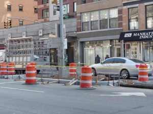 Traffic on Bowery about to improve