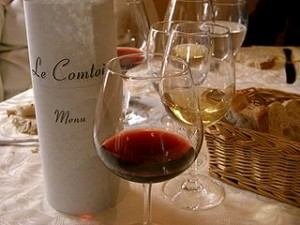 French wines go with French cuisine. Photo courtesy of wikipedia.