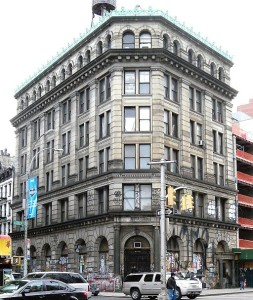 190 Bowery: Graffiti to remain as renovations commence.